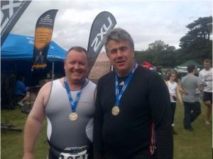 Paul Garratt and Andy McWilliams