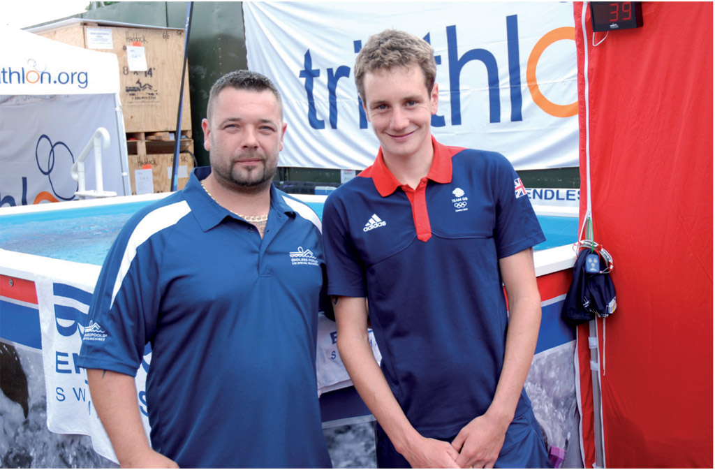 Craig Trusson and Alistair Brownlee