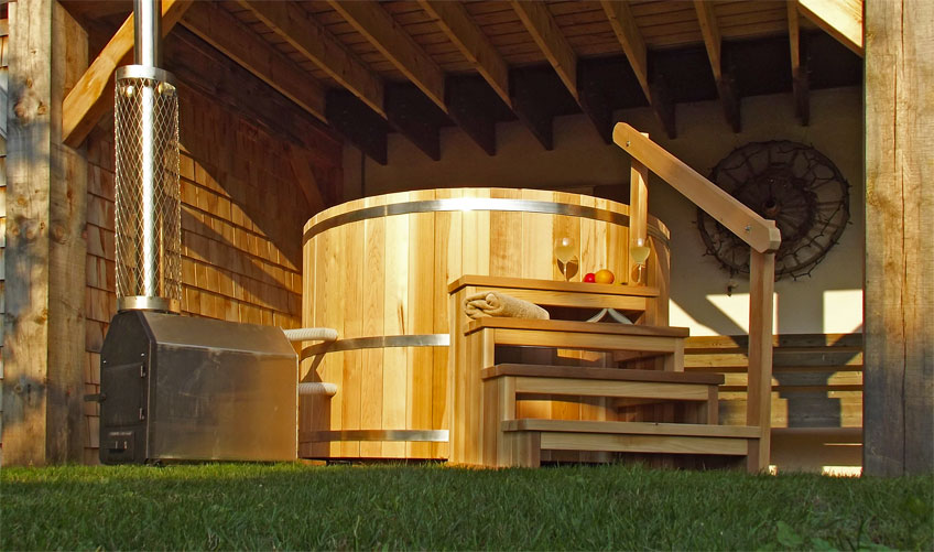 Capitalising on new ukpse wellness area for Dundalk leisure craft outdoor cabin sauna