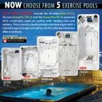 TidalFit trio boosting swim spa range