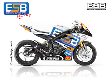 Luke Shelley Racing bike Jacuzzi Logo Pic
