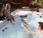 Hot tub transforms soldier's life