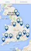 Aqua Warehouse Showroom App Screen Shot Dealer Locations