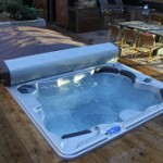 Hot tub accessories specialist takes cover