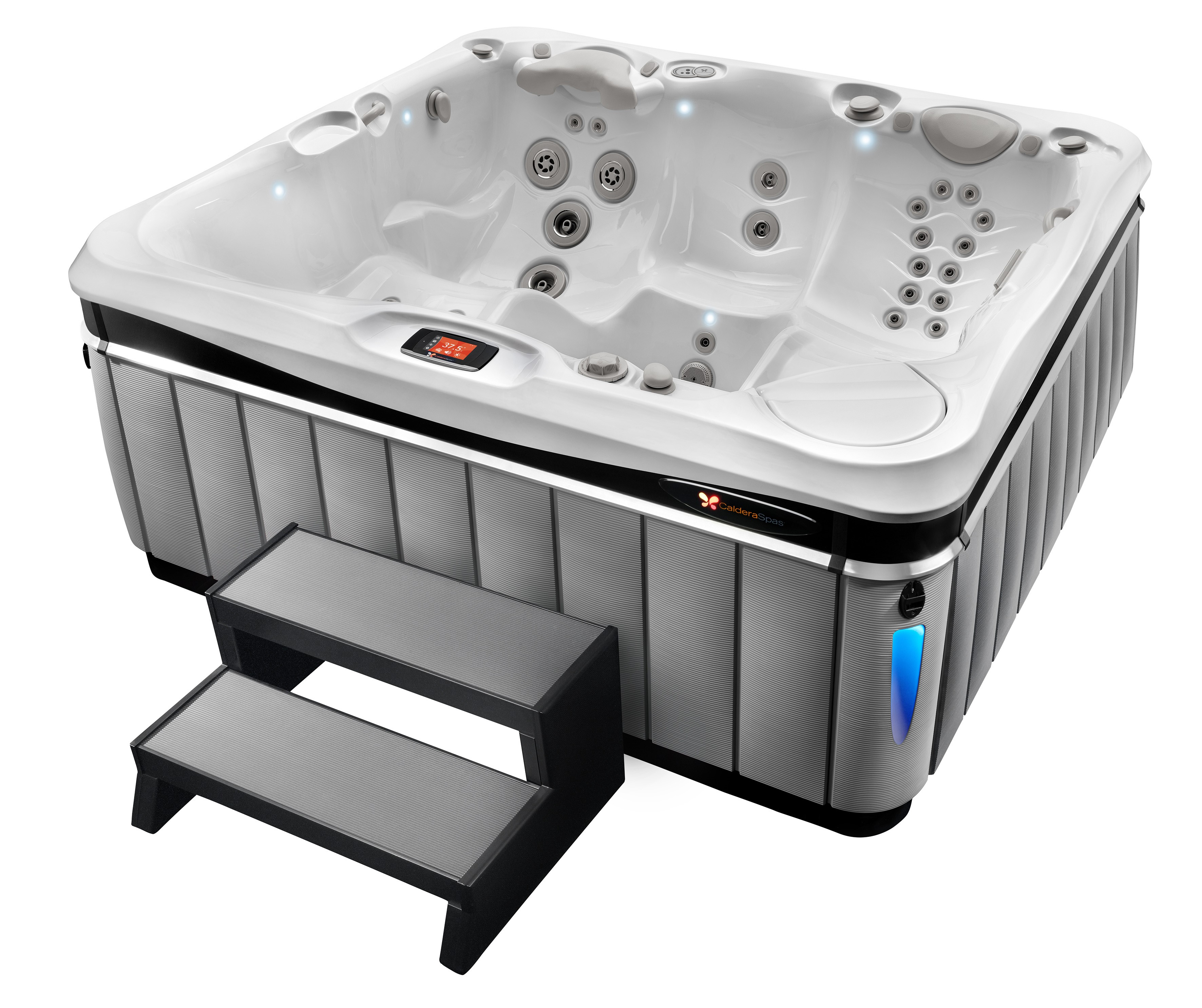 double delight for caldera spas dealers. Black Bedroom Furniture Sets. Home Design Ideas