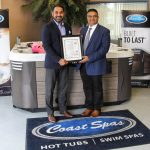 Coast Spas joins elite certification group