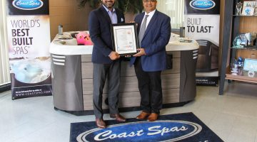 Coast Spas joins elite certification group