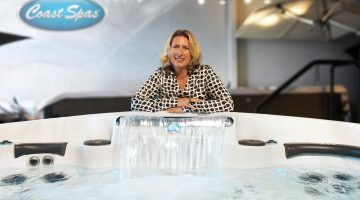 Historic appointment at Coast Spas