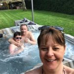 Sallie illustrates how hot tubs change lives